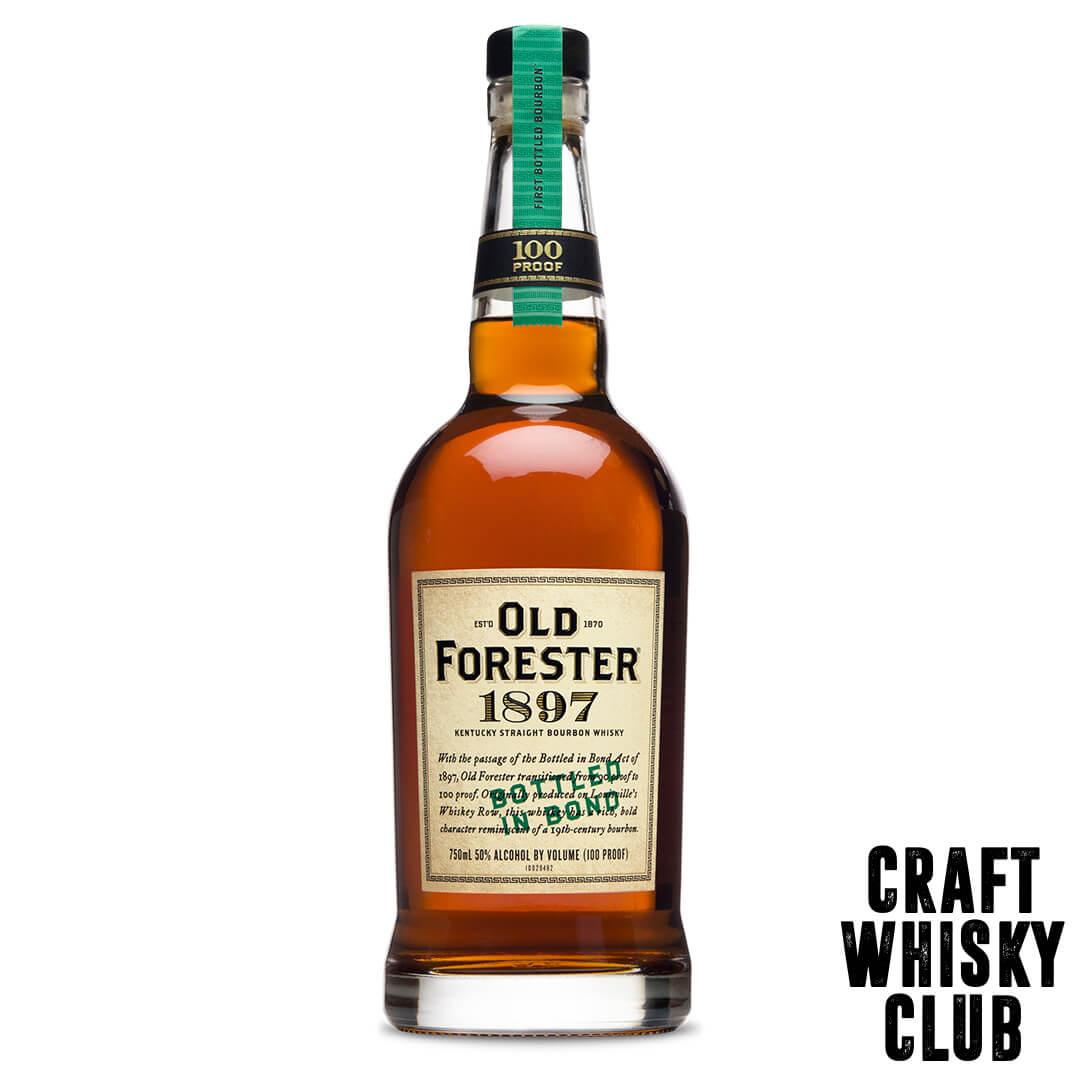 Old forester 18970bottled in bond 100 proof