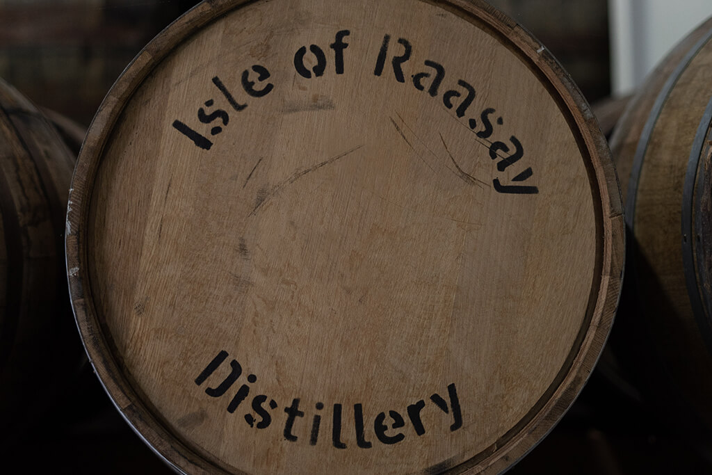 Raasay distillery virgin cask