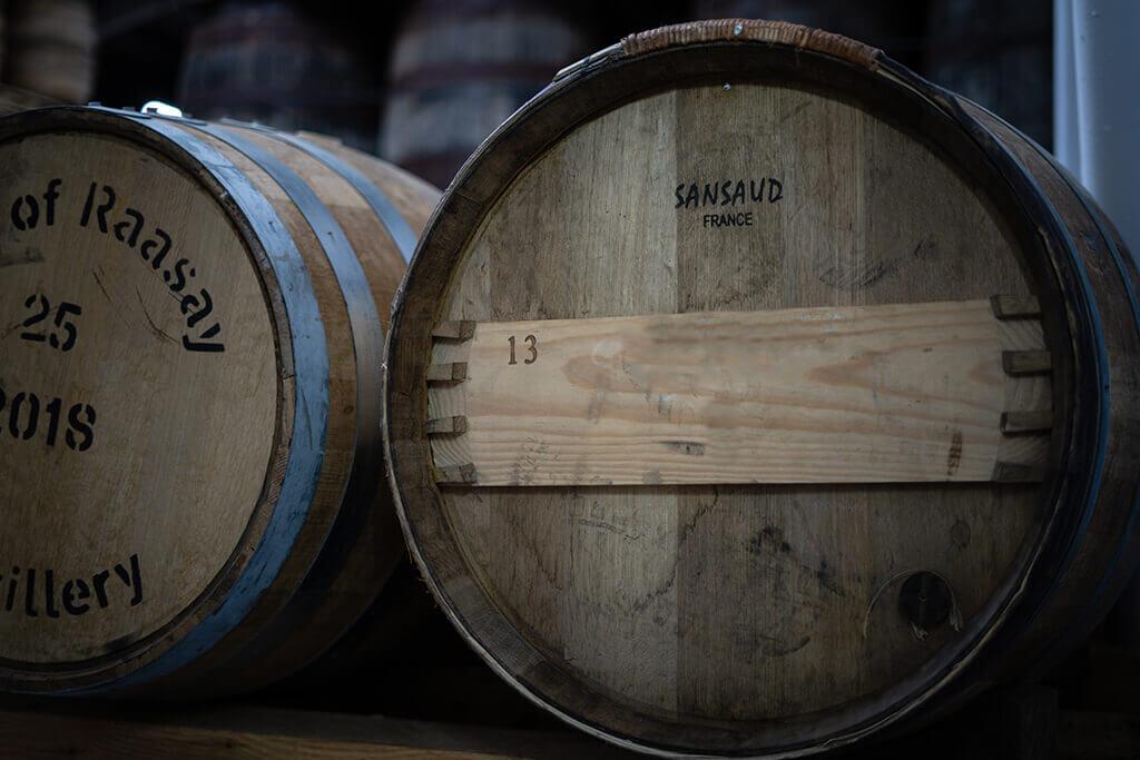 Raasay distillery red wine cask